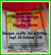 Hispanic family activities Festival Hispanic Heritage Fiesta Blog Hop Recipes Crafts Kid Activities And More Healthy Hispanic Living Hispanic Heritage Fiesta Blog Hop Recipes Crafts Kid Activities