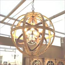 wood cage chandelier circle for sphere view rustic wooden chand rustic ceiling light fixtures chandelier style lighting wood