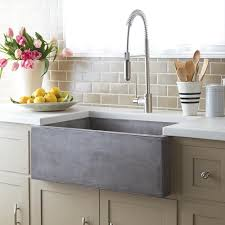 Farmhouse 3018 Concrete Apron Front Kitchen Sink