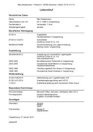 Lebenslauf Vorlage F R Fachkraft F R Lagerlogistik Bewerten