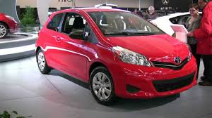 2012 Toyota Yaris Hatchback Exterior and Interior at 2012 Montreal ...
