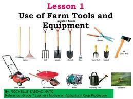 garden tools and equipment and their uses