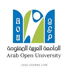 تحميل شعار الجامعة العربية المفتوحة بجودة عالية Logo Arab Open University  PNG