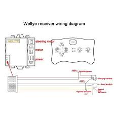 wellye control box receiver match 2 4g bluetooth remote control Club Cart Wiring Diagram at Kids Electric Car Wiring Diagram