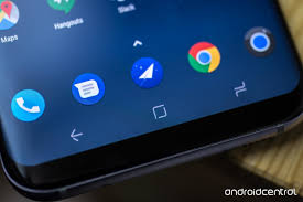 samsung galaxy s8 and s8 review such great heights android central just three on screen navigation keys they re in the traditional reverse samsung order recent apps home back but you can change that