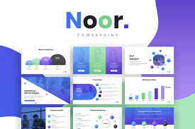 Latest Ppt Designs Free Download Noor Powerpoint Template