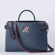 article picture louis vuitton twist tote bag epi leather bag indigo
