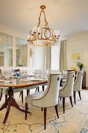 oversized dining room chairs dining room traditional with mirrored wall dark wood dining table table setting