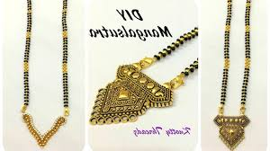 diy make your own jewelry bridal jewelry make your own mangalsutra interchangeable pendants design diy