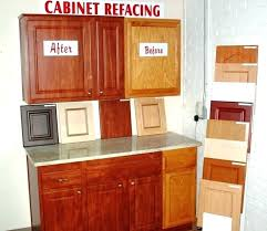 kitchen cabinet refacing refinishing cost reface cabinets before