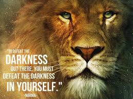 worth re ing a christian allegory joy of nine quote on how to defeat darkness by narnia