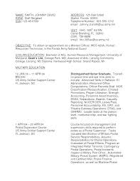 Army Resume Template Military Resume Unique Army Template Resume