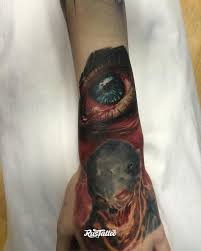 глаз значение татуировок в россии Rustattooru