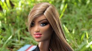 these barbie doll hair transformations are amazing