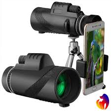 <b>40X60</b> HD <b>Monocular</b> Day&Night Vision Dual Focus Telescope ...
