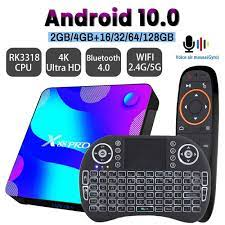 Android 10 TV BOX 2.4G&5.8G Wifi 32G 64G 128G 4k 3D Bluetooth TV receiver  Media player HDR+ High Qualty Very Fast Box