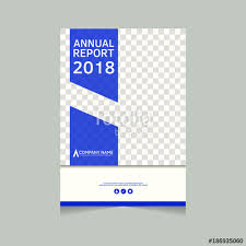 annual report flyer presentation brochure front page book cover layout design