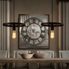 Us 4127 Amerikanischen Droplight Schmiedeeisen Industrie Kreative Restaurant Hotel Bühne Kronleuchter Das Rad Droplight In Amerikanischen Droplight