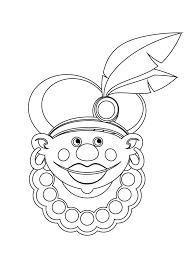 Kleurplaat Piet