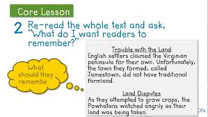 write a conclusion for an informational text learnzillion