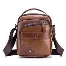 laoi men genuine leather bag multi layer cowhide cross bag is worth ing newchic