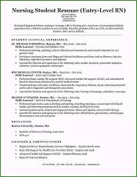 Entry Level Rn Resumes Nurse Resume Template Free Download Unique Entry Level
