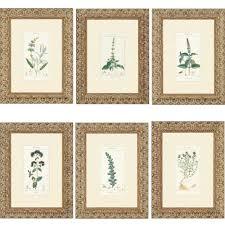 full size of bathroom endearing framed wall art sets 8 botanic detailed frame unique six panel