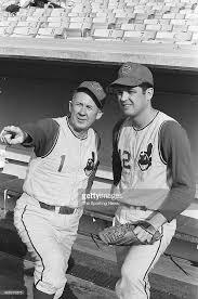 Manager Birdee Tebbetts and Sonny Siebert of the Cleveland Indians... |  Cleveland indians, Cleveland indians logo, Cleveland baseball