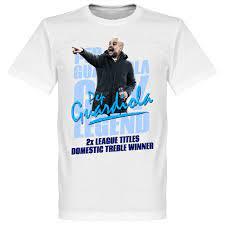 Pep Guardiola Legend T-Shirt - White