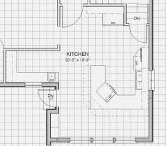 kitchen floor plans beautiful u shaped kitchen floor