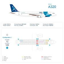 Sata Airlines Airbus A320 Aircraft Seating Chart Aircraft