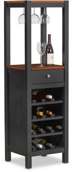 dining room furniture nantucket wine cabinet black and cherry black wine cabinet71