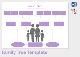 Printable Family Tree Template - Kleo.beachfix.co