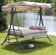 gorgeous swing for patio house decor ideas patio swing daybed canopy glider large outdoor pool deck patio