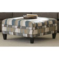storage cocktail ottoman. Casual Classic Geometric Storage Cocktail Ottoman - Orion R
