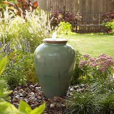 diy outdoor fountain better homes