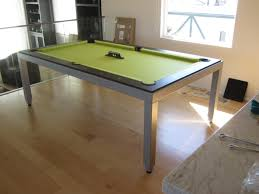 Dining Table Pool Tables Convertible Aramith Fusion Table With A Lime Twist Dk Billiards Pool Table