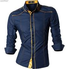 New Arrival Long Sleeve <b>Casual</b> Slim Fit Male Shirts Spring <b>Autumn</b> ...