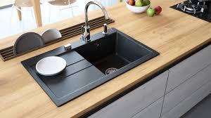 Granite Composite Kitchen Sink With Drainboard Luxor 100lt Lavello