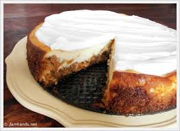 Jam Hands Cheesecake Factory Copycat Carrot Cake Cheesecake