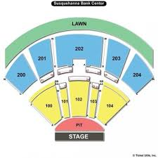 Susquehanna Bank Center Seating Chart Virtual Heart With Joan Jett And Elle King Preferred Access