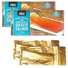 Seafoods Packs Gift 2 Trident Sockeye Smoked Salmon 8w0UFqd