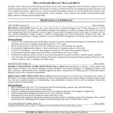 Retail Manager Resume Examples Luxury Store Manager Resume S Rs