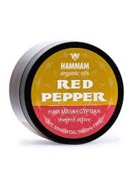 Египетская <b>маска для волос Red</b> Pepper укрепление и рост ...