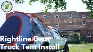 Rightline Gear Truck Tent Install! - YouTube