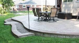 plain concrete patio. Stamped Concrete Patios Unique Cement Photos, Michigan Plain Patio T