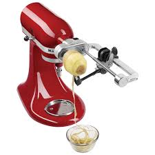 kitchenaid mixer attachments juicer. kitchenaid deluxe spiralizer attachment : mixer attachments - best buy canada kitchenaid juicer s