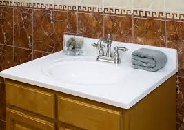 cutting cultured marble vanity tops