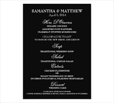 Formal Dinner Menu Template Interesting 48 Engagement Party Menu Templates PSD AI Free Premium Templates