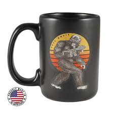 Sasquatch Ceramic Mug Black Rifle Coffee - New Kitchen Store